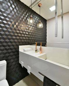 58 Navy Minimalist Decor Ideas You Need To Try - Interior Design Fans Bad Inspiration, Bathroom Inspiration, Apartment Entryway, Bedroom Styles, Easy Home Decor, Bathroom Interior, Master Bathroom, Bathroom Lighting, Light Bathroom