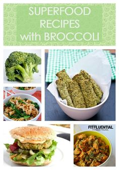 Broccoli Recipes - eat your superfoods