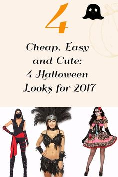 Cheap, Easy and Cute: 4 Halloween Looks for 2017 - The Daily Affair | a lifestyle & travel tips Guide