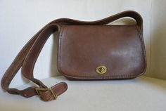 Vintage Coach Brown Sling Bag by TheAdventurersLegacy on Etsy