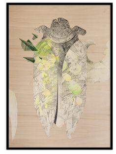 #KatarzynaBudka #guardian #armour #ink #playwood #drawing #beetle, www.projectbu.com
