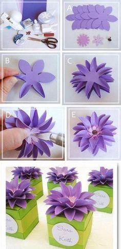 Paper flower backdrop paper love pinterest paper flower mightylinksfo