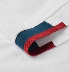 Shop men's polo shirts at MR PORTER, the men's style destination. Pique Polo Shirt, Polo T Shirts, Mens Designer Polo Shirts, Polo Shirt Design, Diy Purse, Fashion Details, Blog, Menswear, Textiles