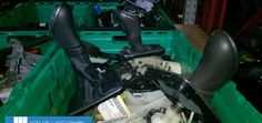 Volvo used part gear leaver