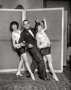"Twenties Troupers: 1926  Washington, D.C., 1926. ""Margaret Little, Earl Columbus and Blanche Lehman."""