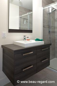 Réalisation 311 Vanity, Bathroom, Inspiration, Bath, Kitchens, Dressing Tables, Washroom, Biblical Inspiration, Powder Room