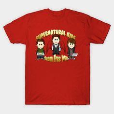 Supernatural Kids - Mens T-Shirt