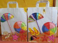 Καλοκαιράκι έφτασε... και κλείνει το σχολείο! Diy Paper, Paper Crafts, Art For Kids, Crafts For Kids, Art Projects, Projects To Try, Origami, Summer Crafts, Seasons