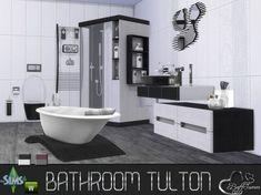 Sims Bambino Bagno : 9 fantastiche immagini su bagno games sims 4 houses e sims cc