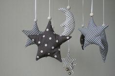 Mobile++*Sterne+und+Mond*+von+hoppel-di-hopp+auf+DaWanda.com