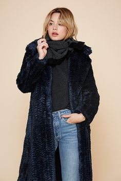 Cosy Navy // Pigalle Jacket // Reformation