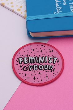 Already masters at the pin game, Punky Pins also sell quirky embroidered patches, from cactus, gem and macaron-themed patches to those that celebrate feminism | Wish List // 8 Wonderful Independent Makers Who Create Funky Embroidered Patches by @arosecast
