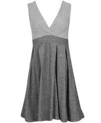 You can't go wronge with an all grey dress