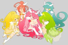 Glitter Force or Smile Pretty Cure