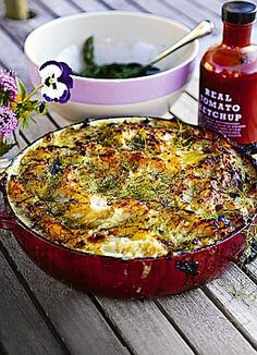 Jamie Oliver summer fish pie