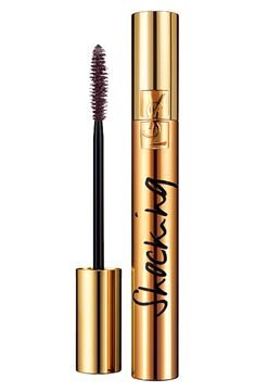 For a flirty and full fringe, this Yves Saint Laurent mascara totally does the trick by creating shocking volume and exaggerating the lashes!
