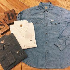 SD Chambray Western Shirt #standardcalifornia #スタンダードカリフォルニア #westernshirt