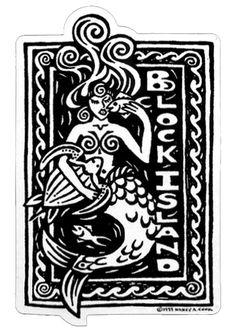 Courage Creative: The Daily Mermaid Logo