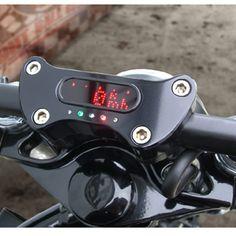 Motogadget Tacho für Harley Sportster Deutsch