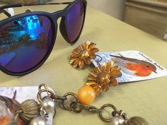 Do these glasses make us look artsy? | Reflections & beautiful earrings