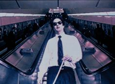 Mark Wallinger Angel 1997 Video / laserdisc video 7min 30sec