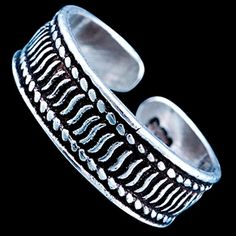 Sterling silver ring, toe ring