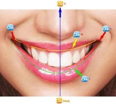 Dentes Perfeitos: Linha do Lábio Inferior e Superior