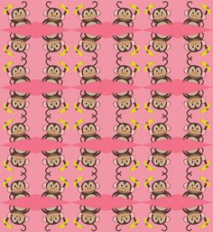 The Objects of Design:  More monkey pattern.