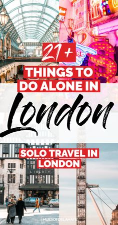Solo travel in London - Filled with things to do alone in LondonIn, in this London solo female travel guide. I answer questions that you'll have when planning a solo trip to London. Like is London…More Top Travel Destinations, Europe Travel Guide, Travel Guides, Places To Travel, Nightlife Travel, Travel Advice, Holiday Destinations, Things To Do Alone, Things To Do In London