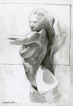 Liberatore - dessins - Galerie Barbier & Mathon