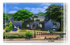 775 Westminster Avenue house at Architectural tricks from Dalila via Sims 4 Updates