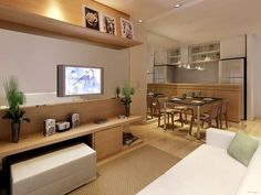 Detalhe da imagem de —cozinha americana com sala 9 150x150 Cozinha Americana com sala