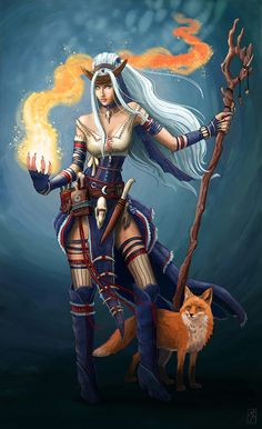 Feiya - Pathfinder Icon Character example by MichellePapadopoulos on DeviantArt