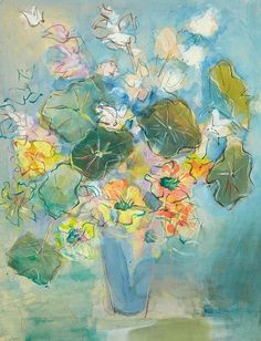 Love Raoul but voting for Jean Dufy today - his 'Nasturtiums' bringing us a bit of summer. http://www.normandythenandnow.com/an-eye-for-beauty-in-le-havre/