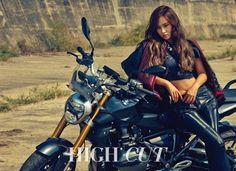 Yuri SNSD Girls' Generation High Cut Korea Magazine Vol. 158