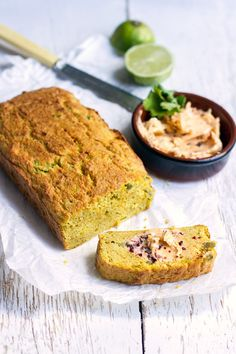 This recipe is inspired by a jalapeño corn bread and chipotle butter I tried at a restaurant in London called Caravan. The original version is essentially a fancy corn bread spiced up with chopped up pickled jalapeños and coriander and served toasted and smothered with chipotle butter. I don't know what the recipe actually is…
