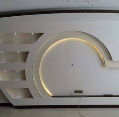 Dwell Of Decor: 30 Popular Custom Gypsum Board TV Units That People Choose Lcd Wall Design, House Ceiling Design, Ceiling Design Living Room, Bedroom False Ceiling Design, Pop Design, Tv Stand Modern Design, Tv Stand Designs, Tv Wanddekor, Modern Tv Wall Units