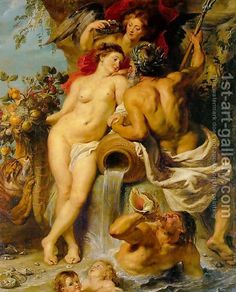The Union of Earth and Water c. 1618 by Peter Paul Rubens