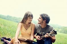 Jenny and Tyler, adorable married couple. This duo makes beautiful and quirky acoustic/folk music together. I love it!