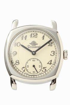 N001-SWA  N001-SWA 16200 Rosemont Nostalgia選べるベルトフェア対象商品 Rosemont Nostalgia/N001-SWA クッションタイプと呼ばれ 1920後半1940年代に流行した形 N001-SWAモデルには文字盤のデザインを引き締める 黒針を採用しています お好みのベルトをお選びいただき自分らしい腕時計を カスタムしてみてはいかがでしょうか 素材ステンレス ムーブメントクォーツ 防水性3気圧防水 保証書について 保証書は購入明細書納品書と合せて保管していただきますようお願いします 修理の際は保証書と購入明細書納品書を合わせてご提出ください ご購入の注意点 こちらは時計本体のみの販売となっております この商品のケースカラーはシルバーです ベルトをお買い求めの際はシルバーの尾錠がついたベルトをご購入ください