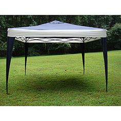 @Overstock - This garden canopy tent is perfect for your garden, an outdoor party or a camping trip. Featuring a navy-colored top with white sides, this canopy is simple to assemble and comes in a handy storage bag.http://www.overstock.com/Sports-Toys/ProGarden-Polyester-Top-Steel-Frame-Canopy-Tent-10-x-10/5224699/product.html?CID=214117 $89.99
