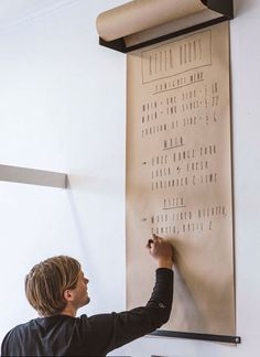 wallpaper with memo board
