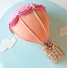 gâteau montgolfière / hot air balloon cake