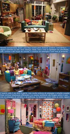 Apartamento da Penny - The Big Bang Theory