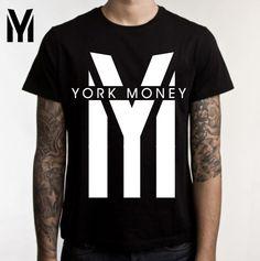 Camisetas Exclusivas e Estilosas YORK MONEY.