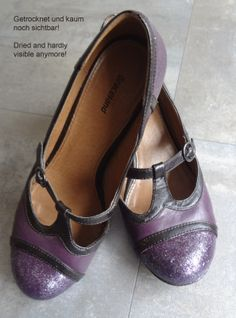 ac8366b0ea9e21 How to fix damaged shoes and upcycle outlook of your old shoes same time.  Old