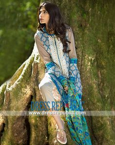 Sana Safinaz Lawn Spring / Summer Collection 2014