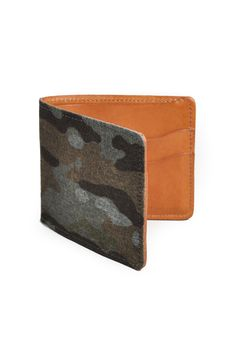 88f722439518 THE HILL-SIDE Mulitcam Camo Back Side Print Denim Wallet Print Denim