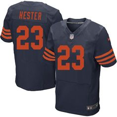 8 Best Bears #23 Devin Hester Home Team Color Authentic Elite  for sale