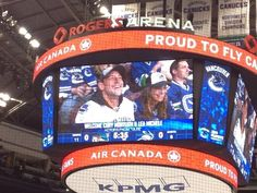 Cory Monteith And Lea Michele Take In A Canucks Game